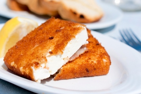 saganaki cheese how to cook